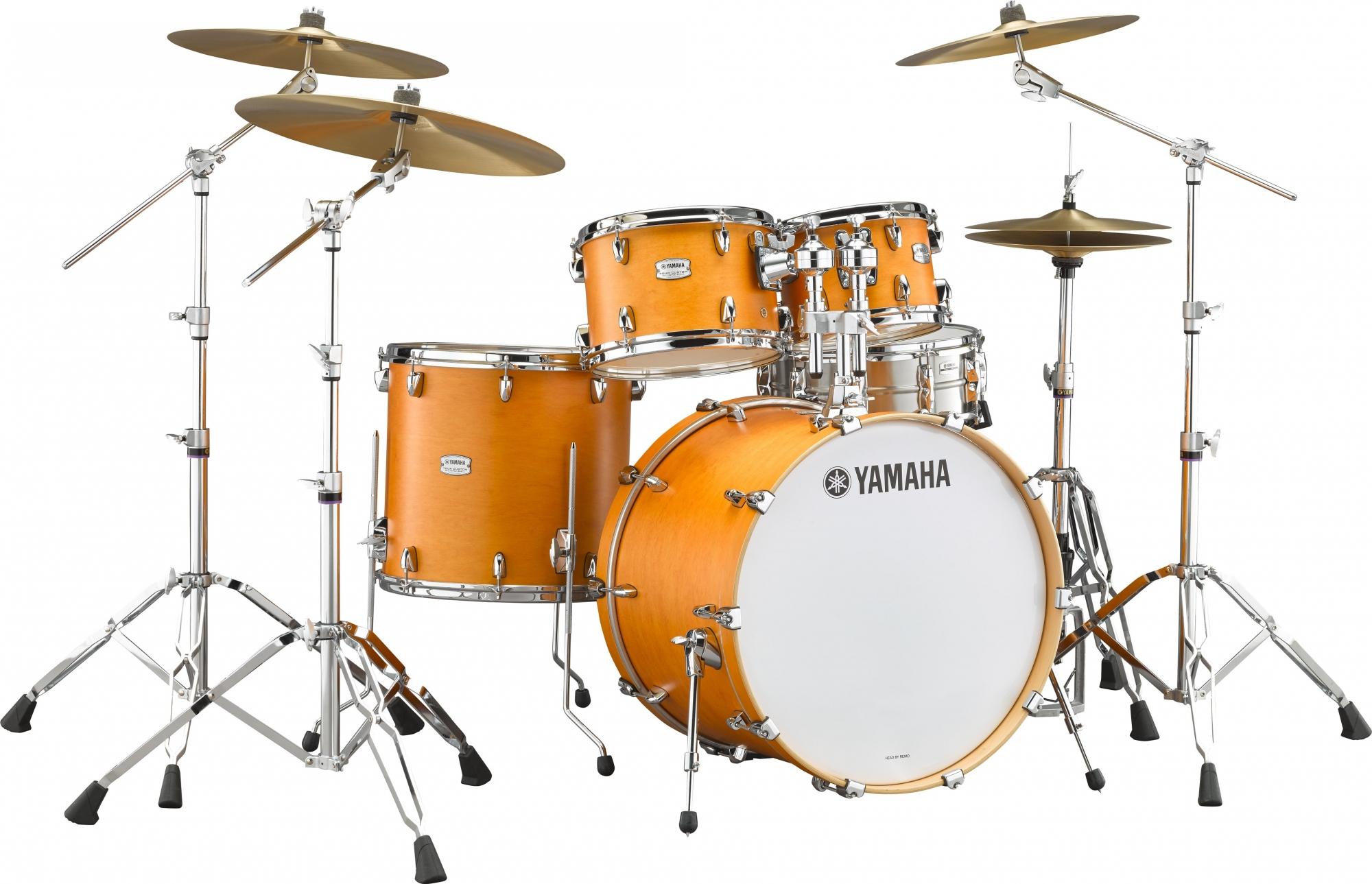 Yamaha Tour Custom Studio Trommesæt Chocolate Satin