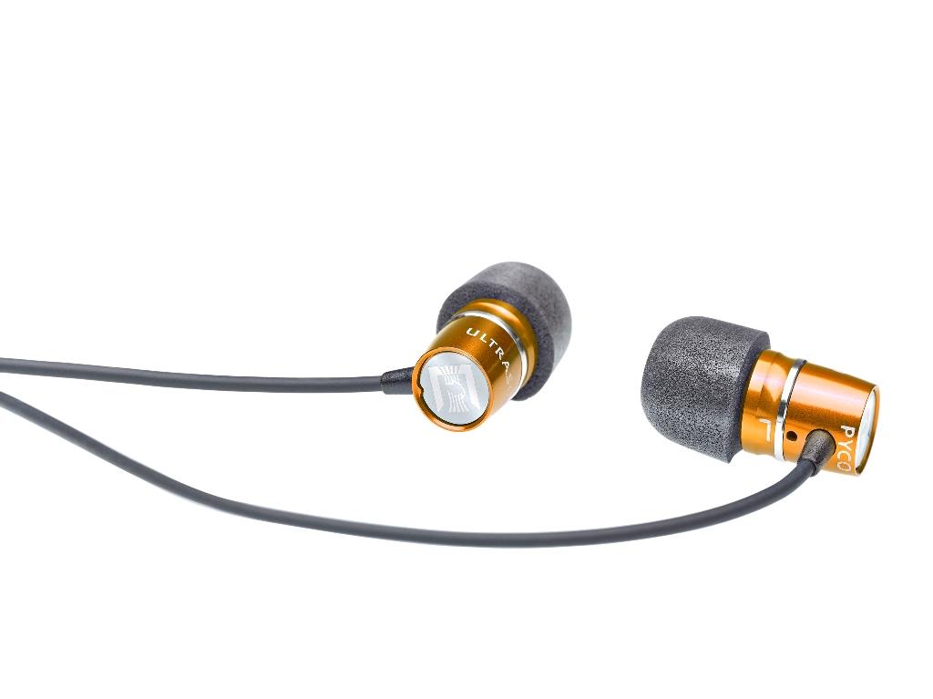 Image of   Ultrasone Pyco In-Ear headsæt, orange