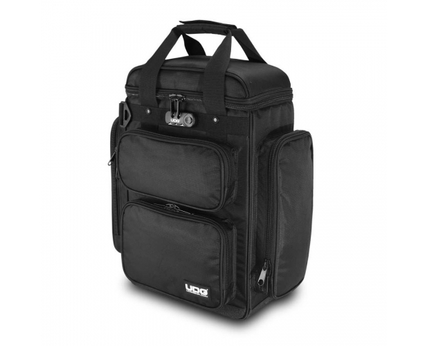 Image of   UDG Ultimate ProducerBag Large Black/Orange Inside U9022BL/OR