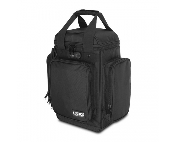 Image of   UDG Ultimate ProducerBag Small Black/Orange Inside U9023BL/OR