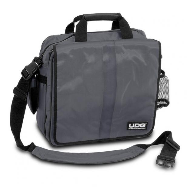 Billede af UDG Ultimate CourierBag DeLuxe Steel Grey, Orange inside U9448