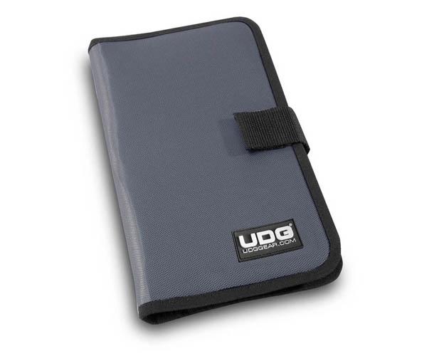 Billede af UDG Ultimate CD Wallet 24 Steel Grey, Orange inside U9980SG/OR