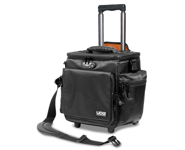 UDG Ultimate SlingBag Trolley DeLuxe Black, Orange inside U9981BL/OR