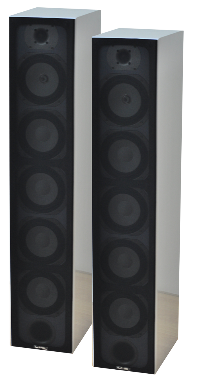 Image of   4-WAY HIFI COLUMN SPEAKERS - WHITE