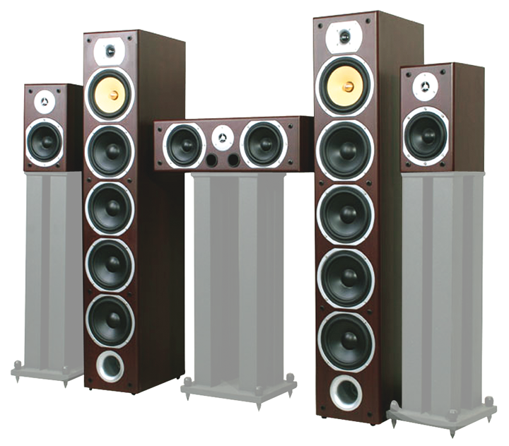 Image of   5.0 HOME THEATRE SYSTEM