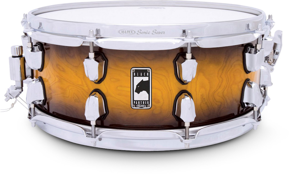 "Image of   Mapex 14x5,5"" Black Panther Velvetone Lilletromme"