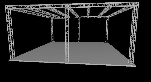 DuraTruss DT 34-Show System 11x11x4,8m