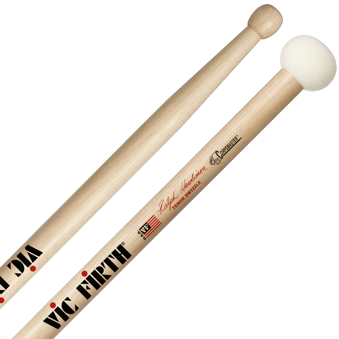 Vic Firth Corpsmaster Swizzle Tenor Sticks Ralph Hardimon