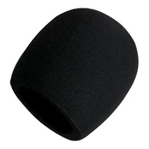 Mipro Vindhætte til mikrofon, sort (pakke med 2 stk)