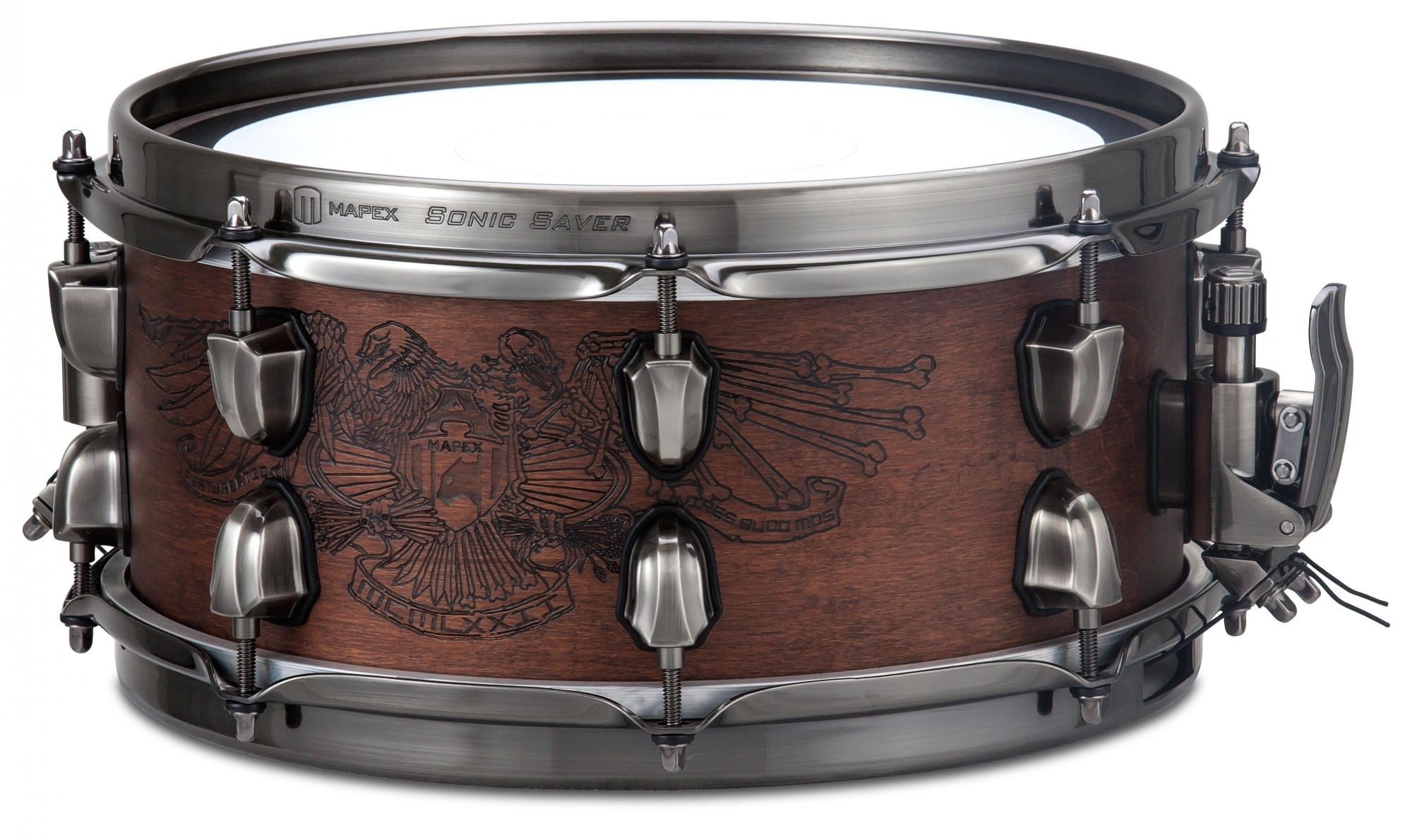 "Mapex 12x5,5"" Black Panther Warbird Lilletromme"