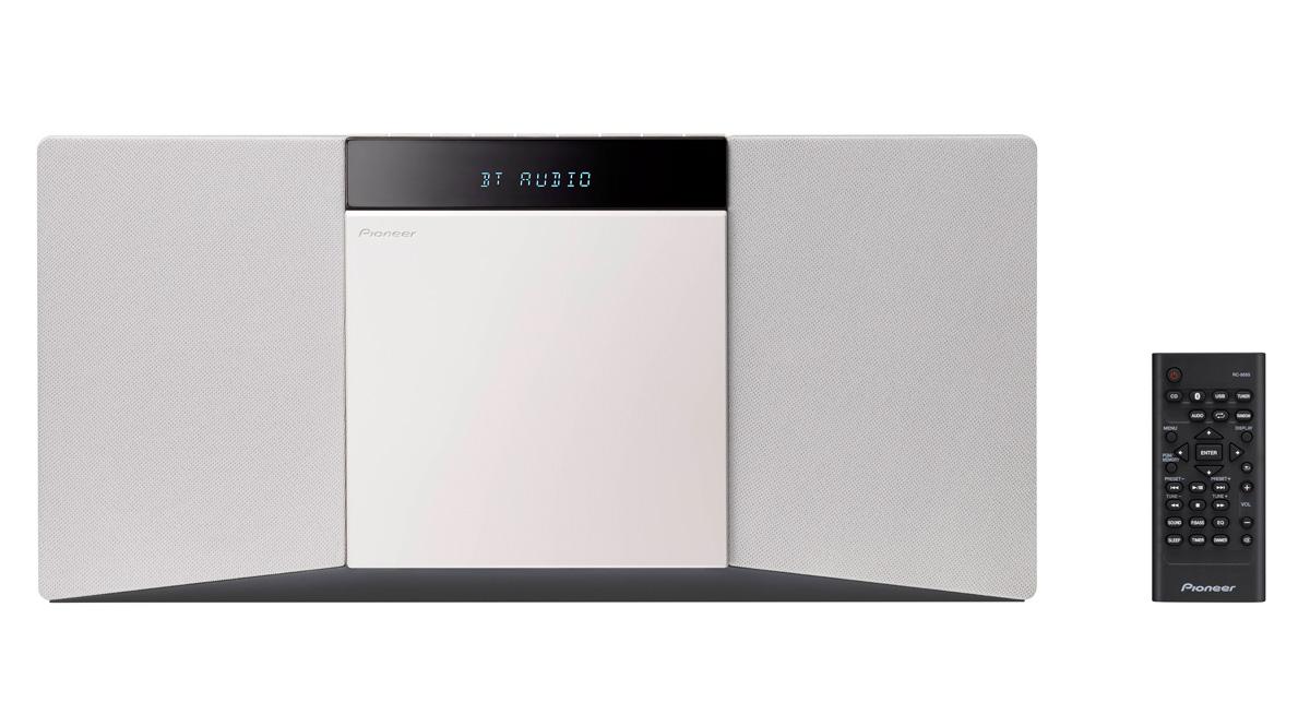 Image of   Pioneer X-SMC02D DAB+ Radio, Bluetooth Farve: Hvid