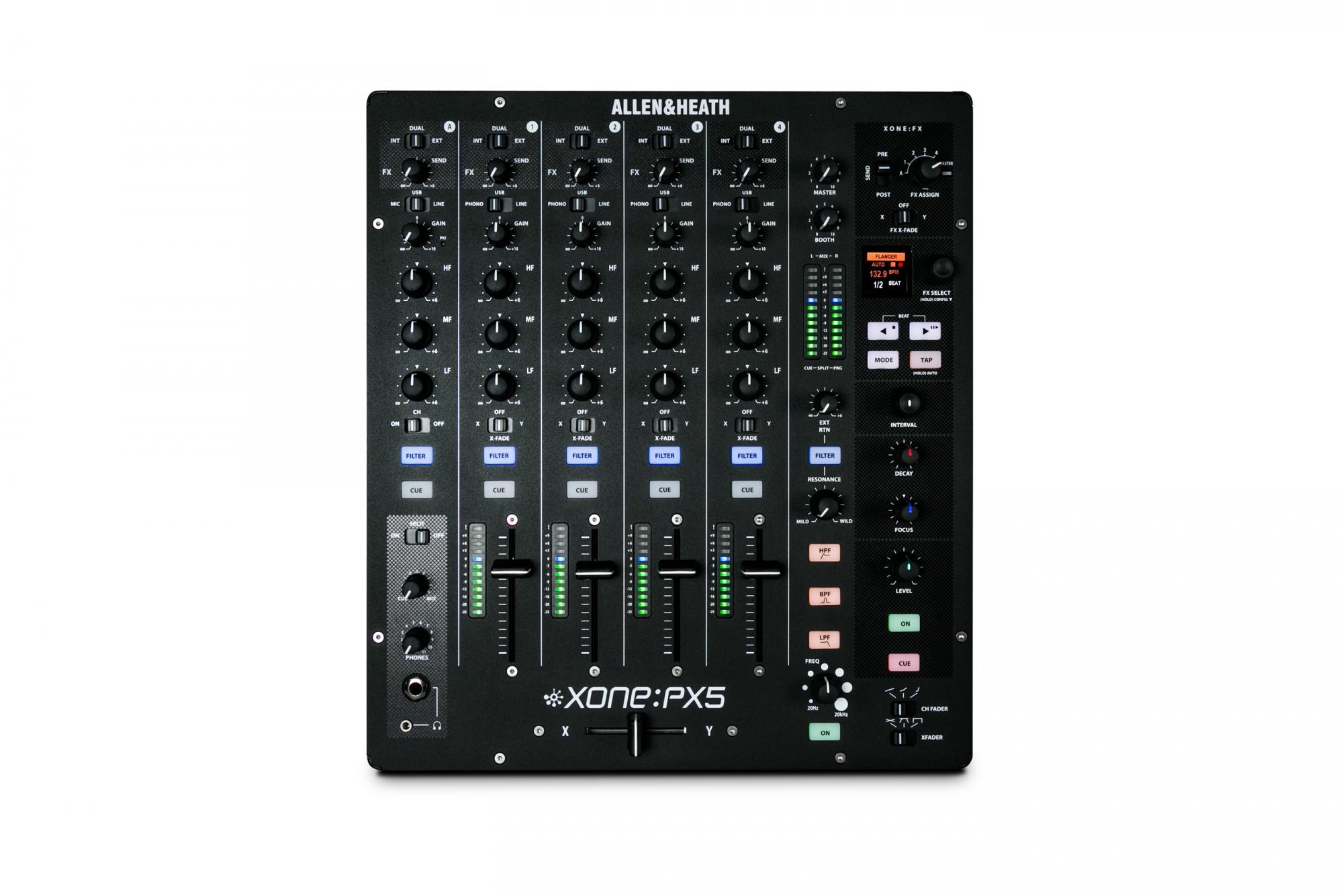5 kanals DJ mixere