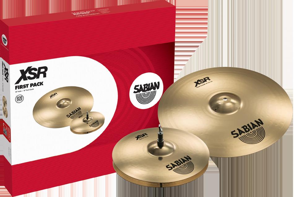 Sabian XSR First Pack Bækkenpakke