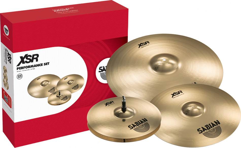 Sabian XSR Performance Set Bækkenpakke