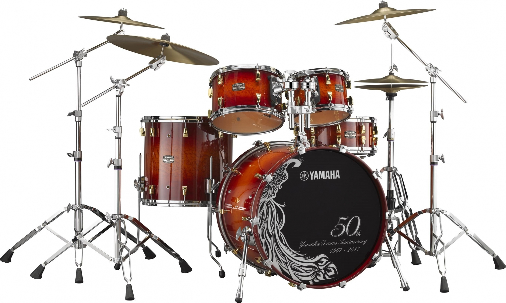 Image of   Yamaha 50th Anniversary Trommesæt DEMO