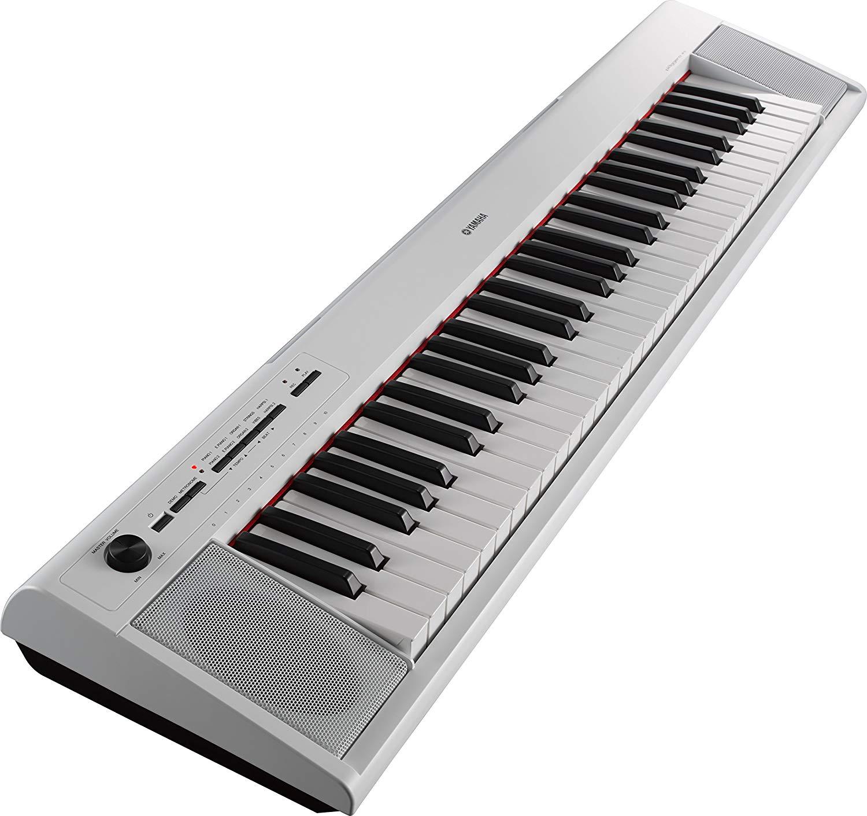 Yamaha NP-12WH Digital Keyboard - Hvid