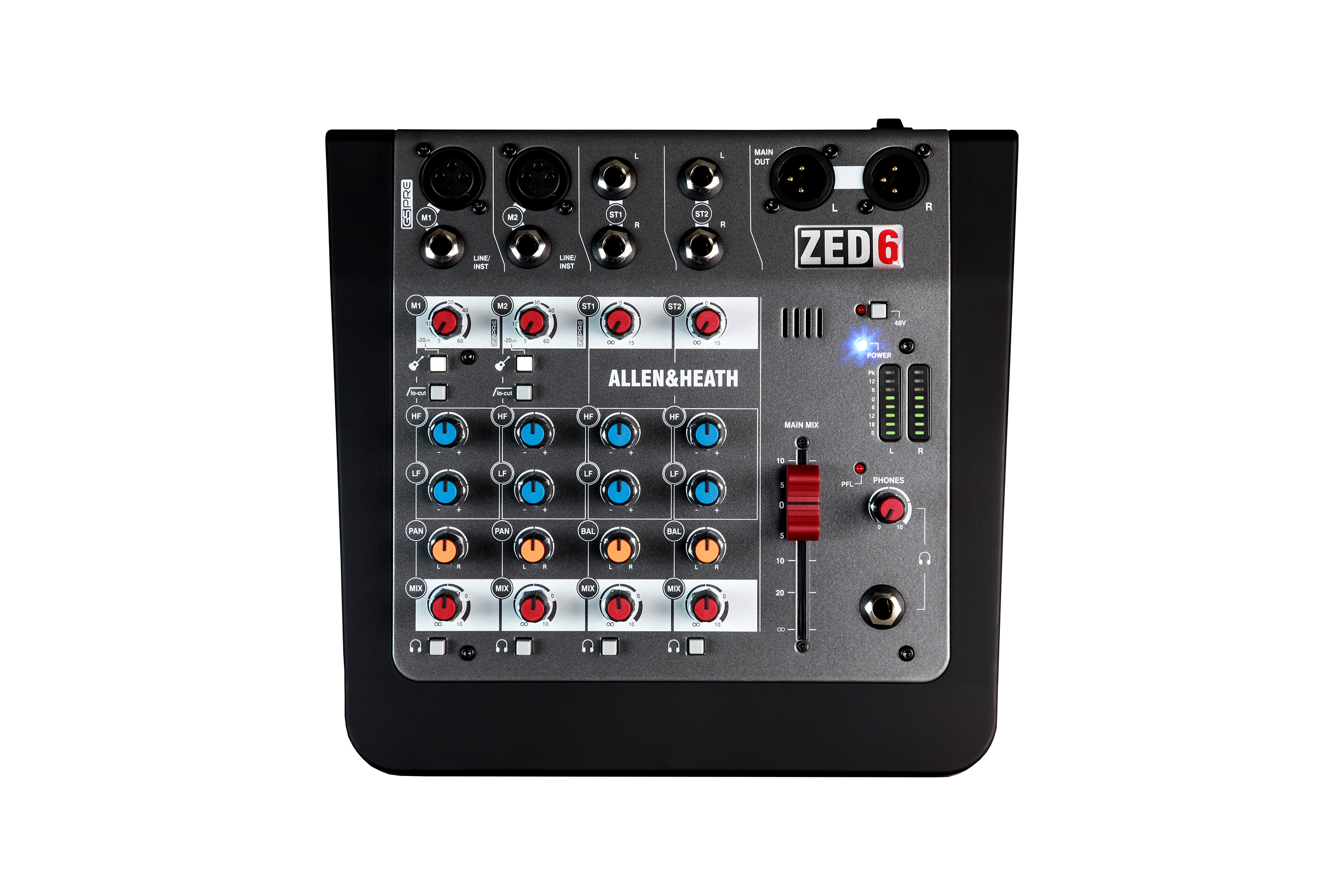 Image of   A&H ZED6 6 kanals live mixer