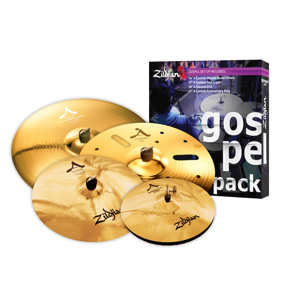 """Zildjian """"Gospel"""" Cymbal Pack"""