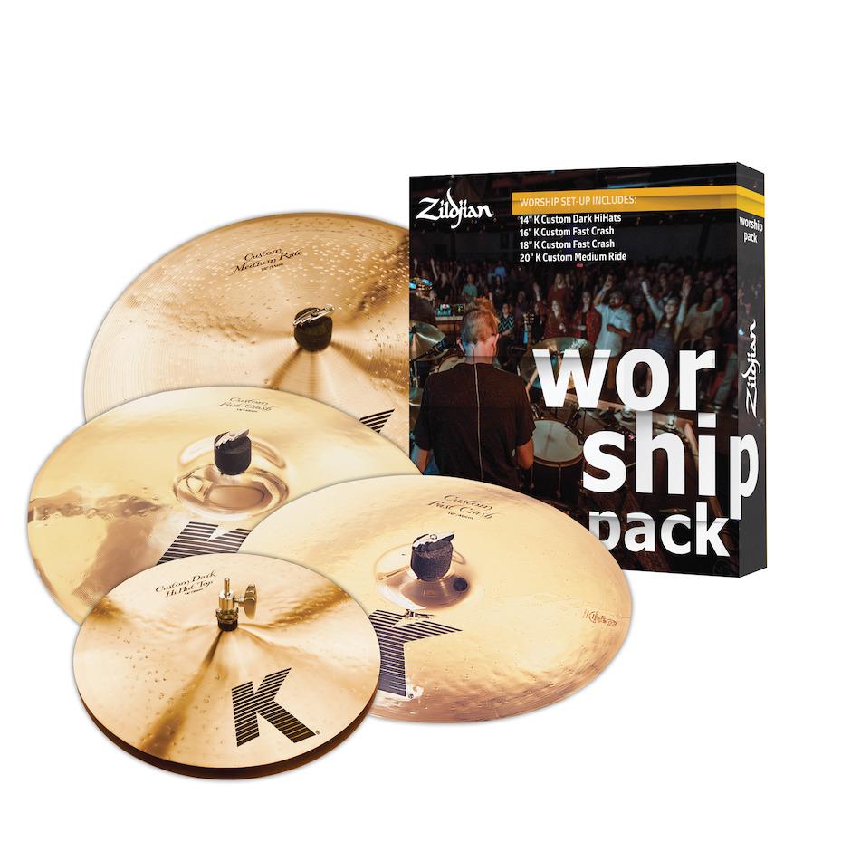 Zildjian KC0801W Worship bækkenpakke