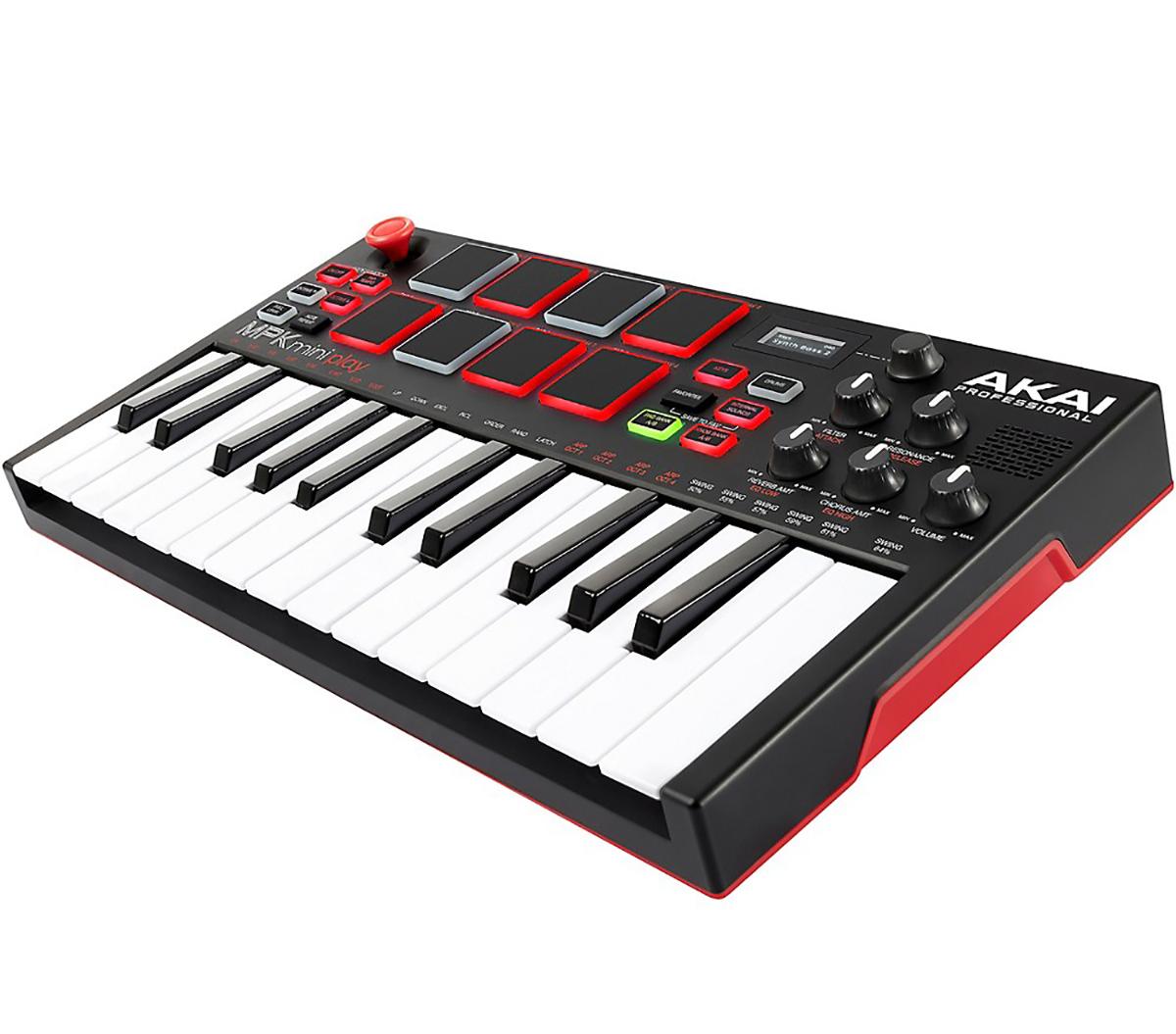 Akai MPK Miniplay Keyboard og USB Controller