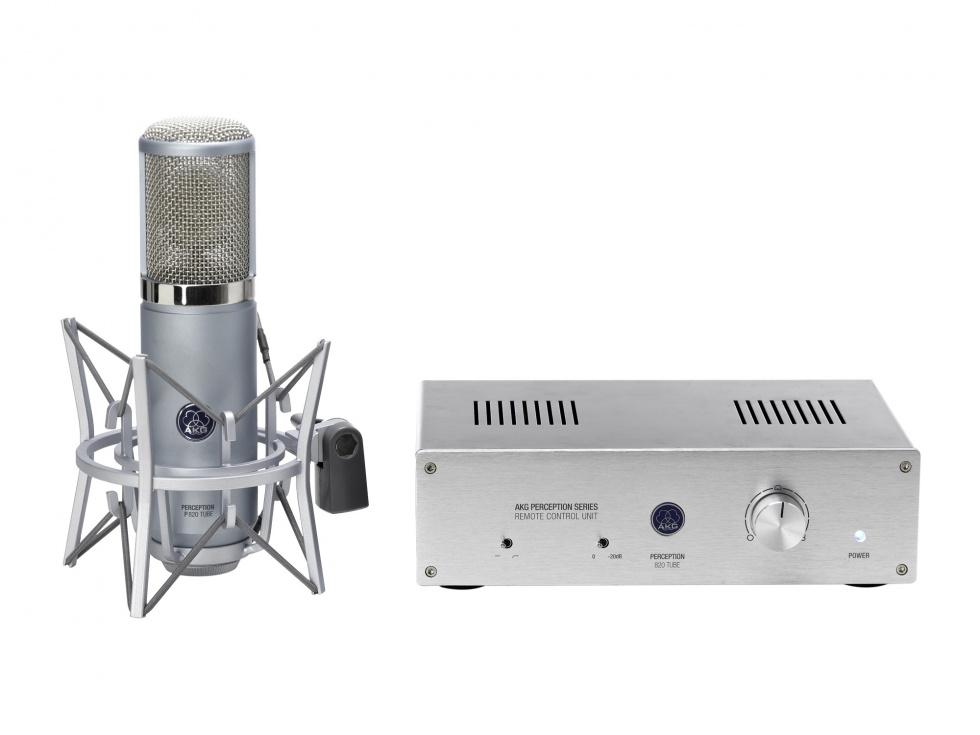 Image of   AKG Perception 820 Tube Rør Studiomikrofon