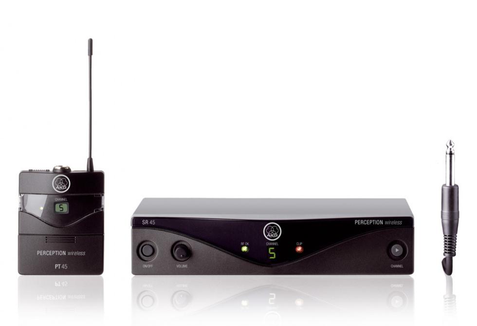 AKG WMS45 Trådløst Instrumentsystem ISM (835 - 865 MHz)