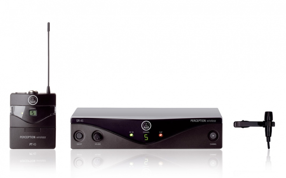 AKG WMS45 Trådløst presentersystem Frekvensbåndbredde B2 (774 - 778 MHz)
