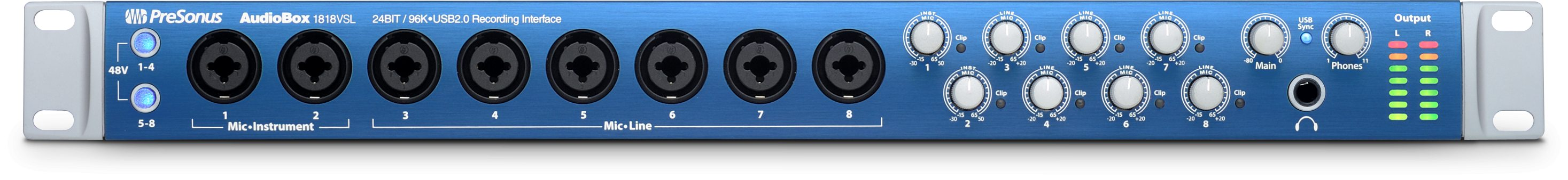 Image of   Presonus AudioBox 1818 VSL
