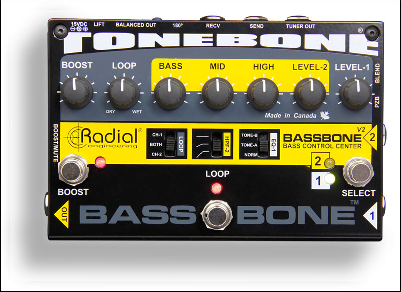 Image of   Radial Bassbone V2