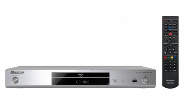 Pioneer BDP-180 Blu-Ray afspiller Farve: Sølv