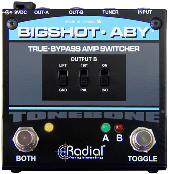 Radial Tonebone Bigshot Aby With Leds