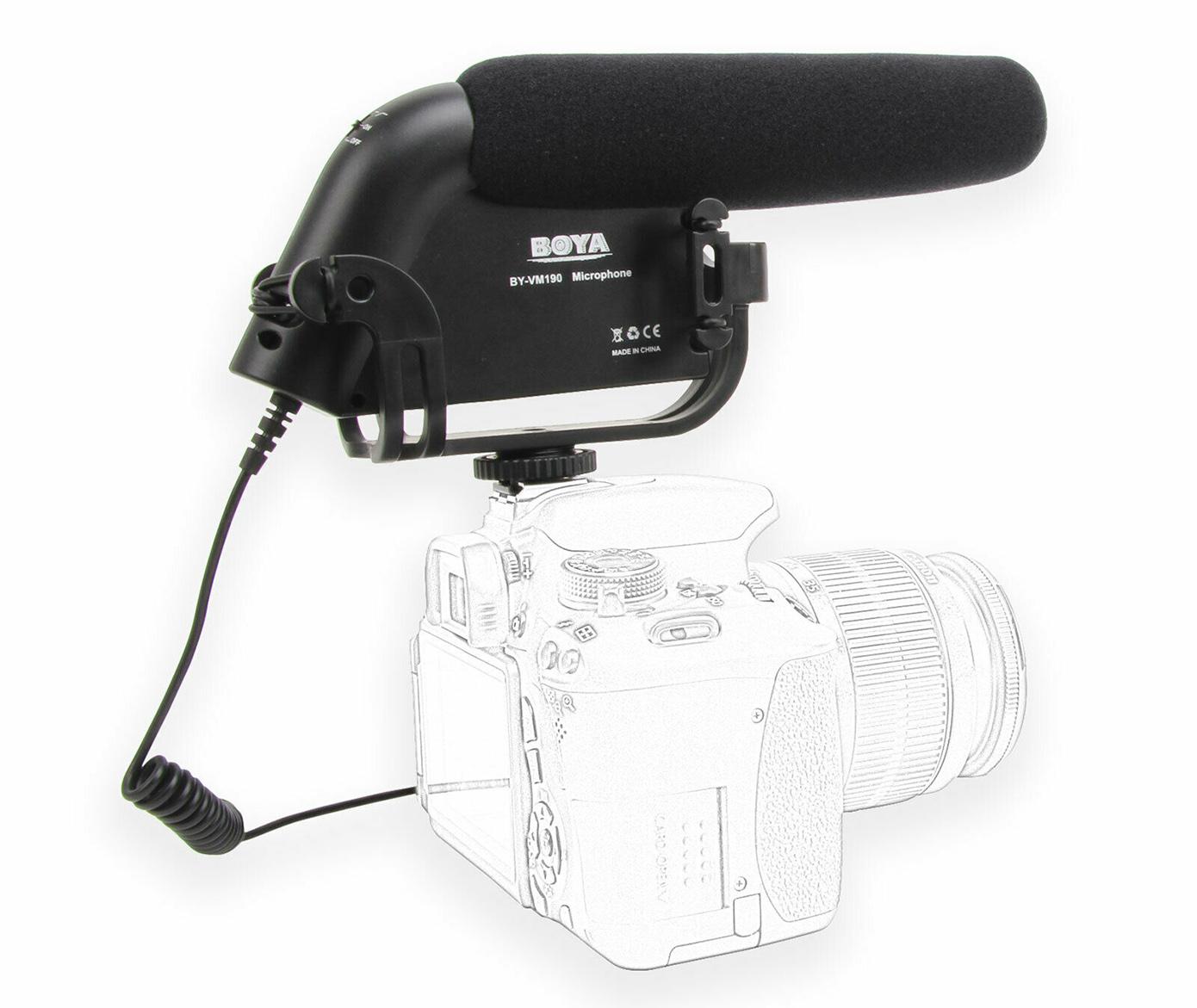 Mikrofon Boya BY VM190