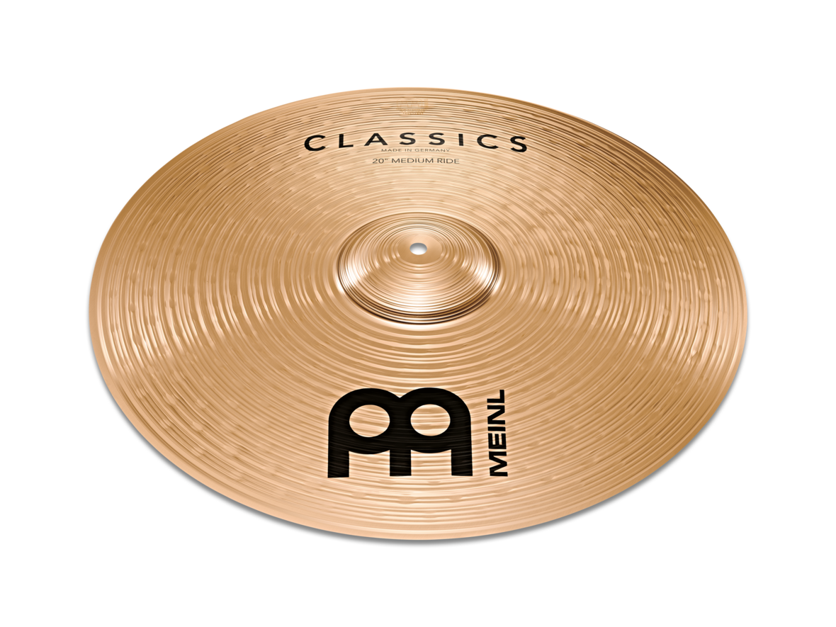 "Meinl 20"" Classics Medium Ridebækken DEMO"