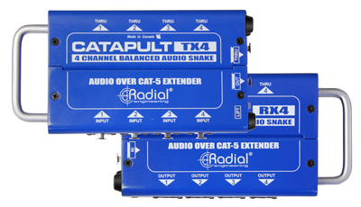Image of   Radial Radial Catapult Tx4 - 4Ch Transmitter, With Balanced I/O, Uses Shielde