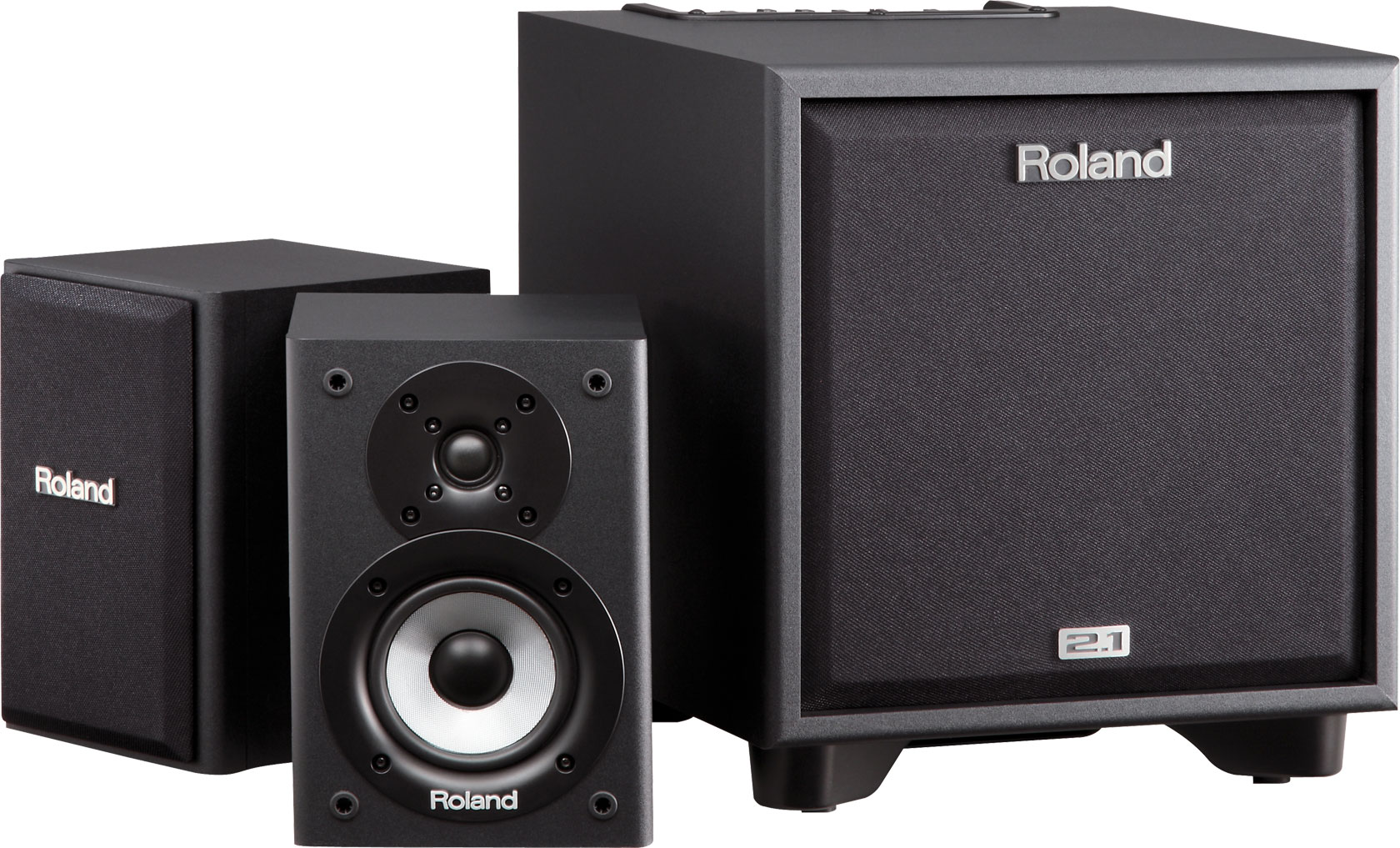 Image of   Roland CM-110 Cube Monitor inkl. 2 stativer
