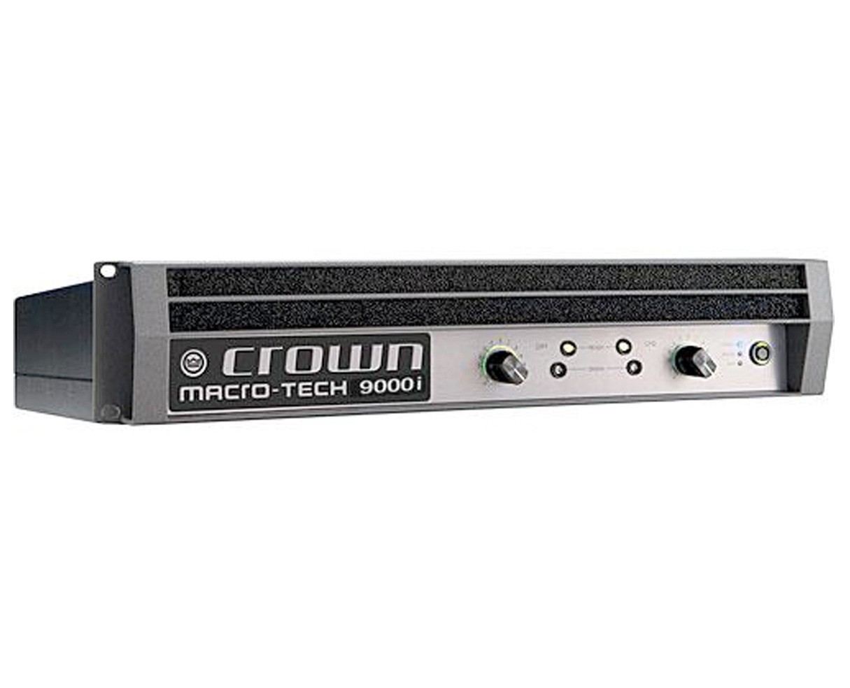 Crown MA9000i Macro-Tech i Forstærker 2 x 1.500 Watt 8 Ohm