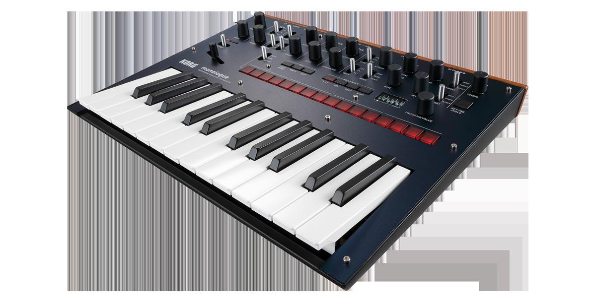 Image of   Korg Monologue Blue Synthesizer
