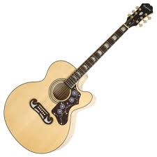 Image of   Epiphone EJ 200SCE - Natural