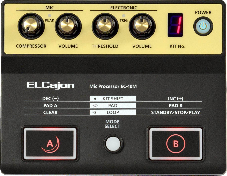 Image of   Roland Cajon Pedal EC-10M