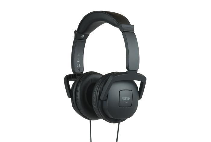 Image of   Fostex TH-7BK Hovedtelefon dynamisk lukket, sort