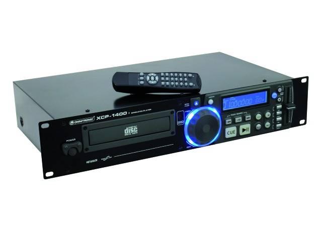 Omnitronic XCP-1400 CD Afspiller