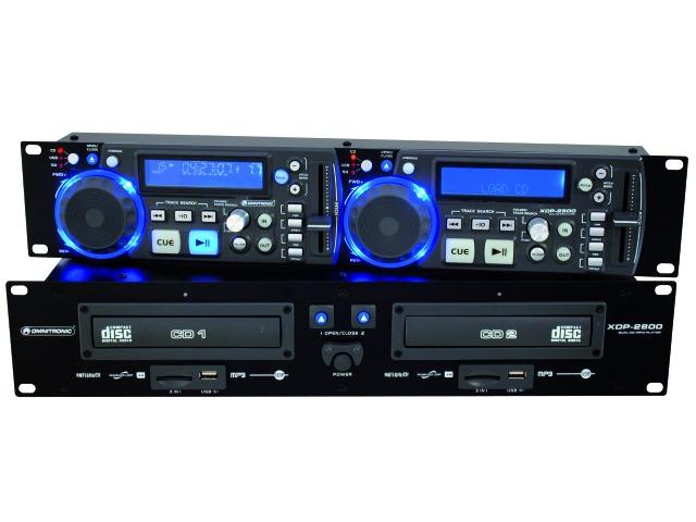 Image of   Omnitronic XDP-2800 CD/MP3 Afspiller