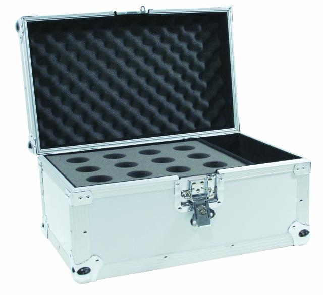 Microphone case Road 12 microphones sil
