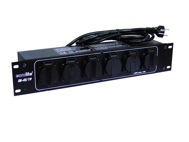 Image of   Eurolite SB-42/19 Strøm fordeler