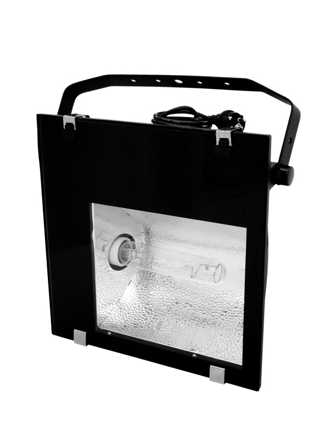 Image of   Eurolite GKF-250S Outdoor spot 250W E40 Sort B