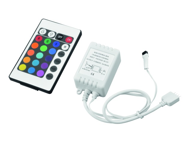 LED Strip RGB controller IR 12V - Eurolite