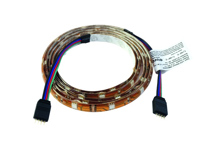 Billede af LED Ribbon 1.5m extension RGB SMD 5050 - Eurolite
