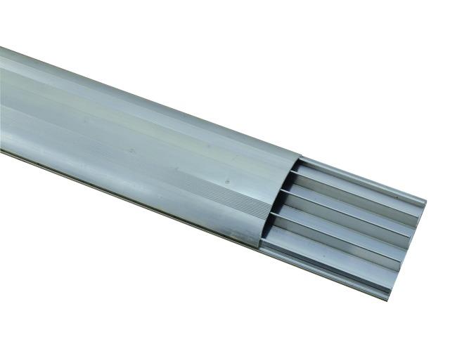Billede af Floor cable channel, 75mm, alu, 2m