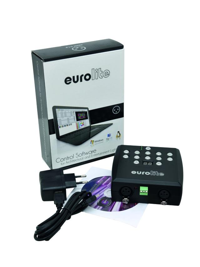 LED SAP-1024 Stand-alone player - Eurolite