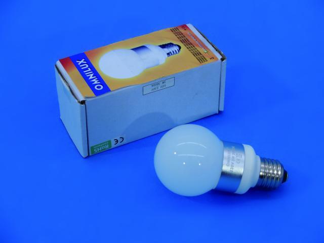 OMNILUX LED G60 230V 1W E27 6400K